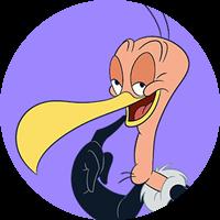 Beaky Buzzard headshot
