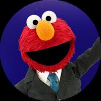 Elmo headshot