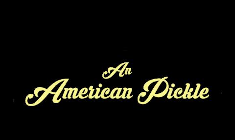 An American Pickle logo