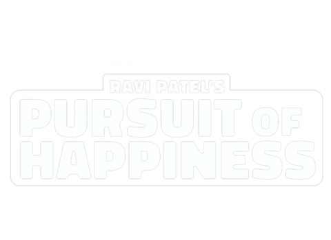 Ravi Patel's Pursuit of Happiness logo