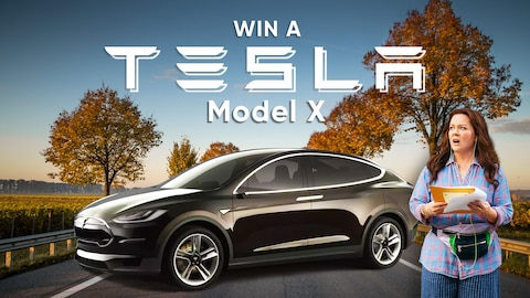 Win a Tesla and Hang with Melissa Sweepstakes