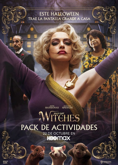 The Witches activity pack Spanish
