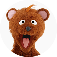 Baby Bear Headshot