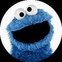 Cookie Monster Headshot