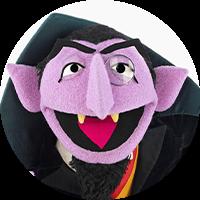 Count Von Count Headshot