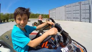 Go Karts and Aquarium