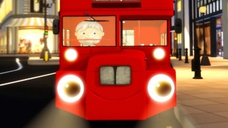 The Big Red London Bus