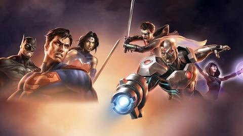 Justice League Vs. Teen Titans Stream